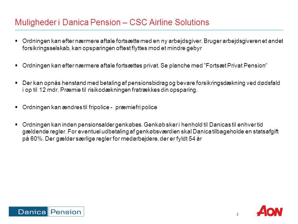 Gruppelivsdækninger (Summer) – i FG – CSC Airline Solutions