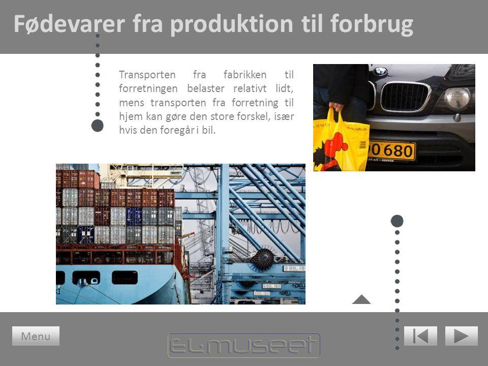 Fødevarer fra produktion til forbrug