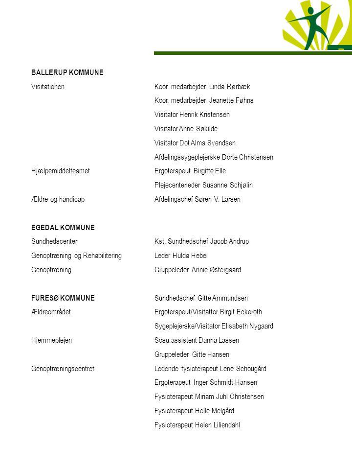 DELTAGERLISTE SAMARBEJDSKONFERENCE MELLEM OPTAGEKOMMUNERNE, HERLEV HOSPITAL OG PRAKTISERENDE ...