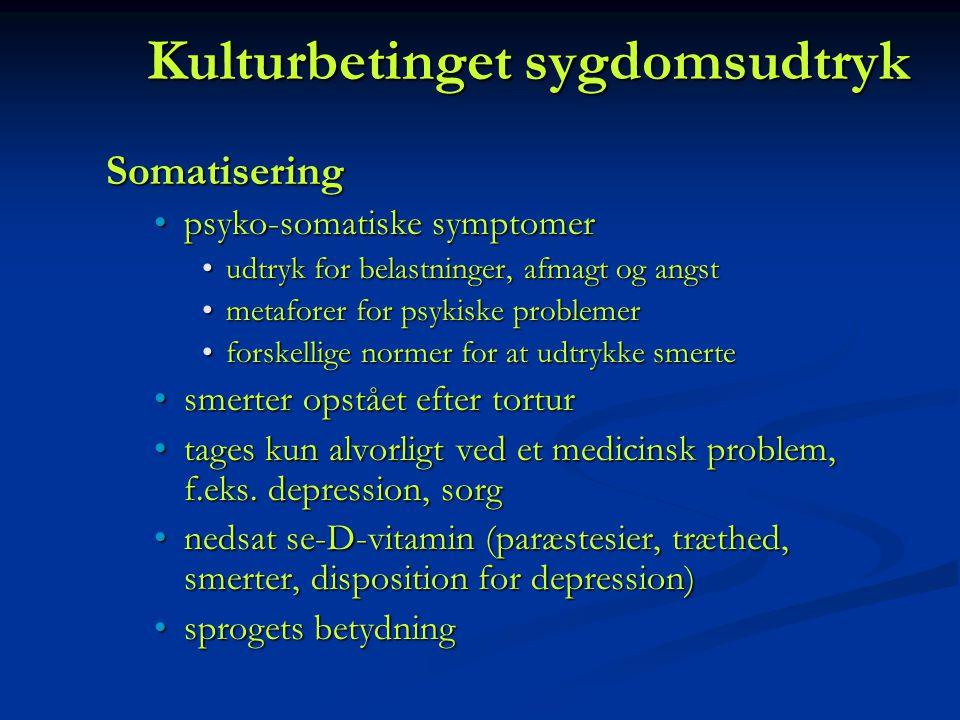 Kulturbetinget sygdomsudtryk