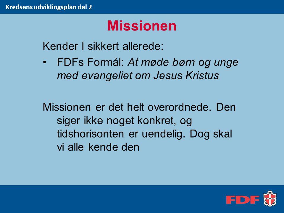 Missionen Kender I sikkert allerede: