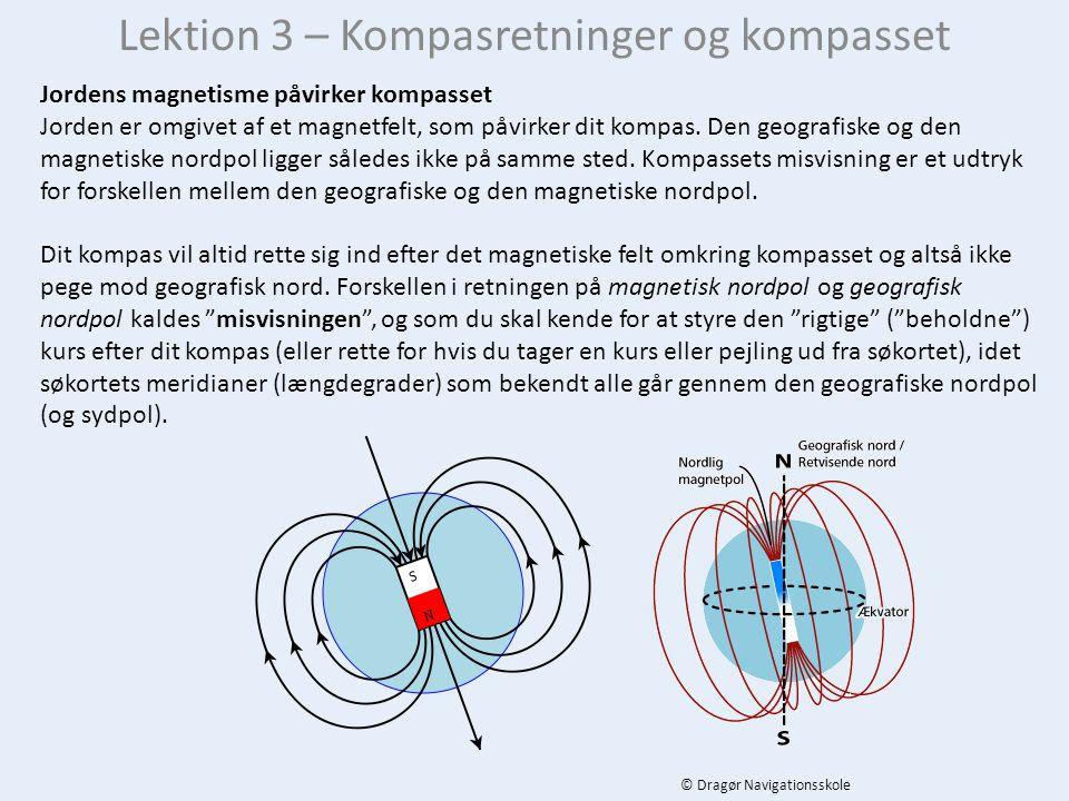Lektion 3 – Kompasretninger og kompasset