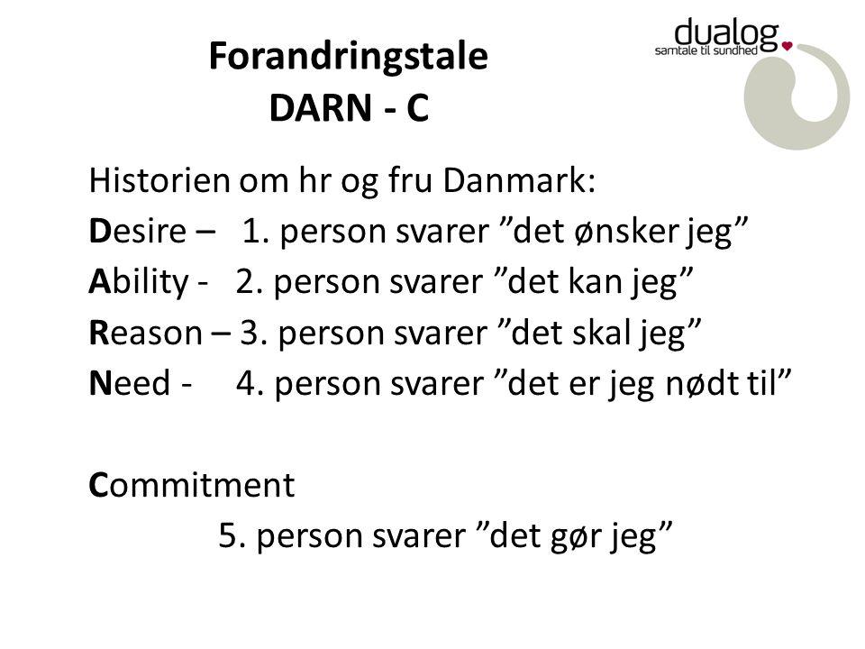 Forandringstale DARN - C