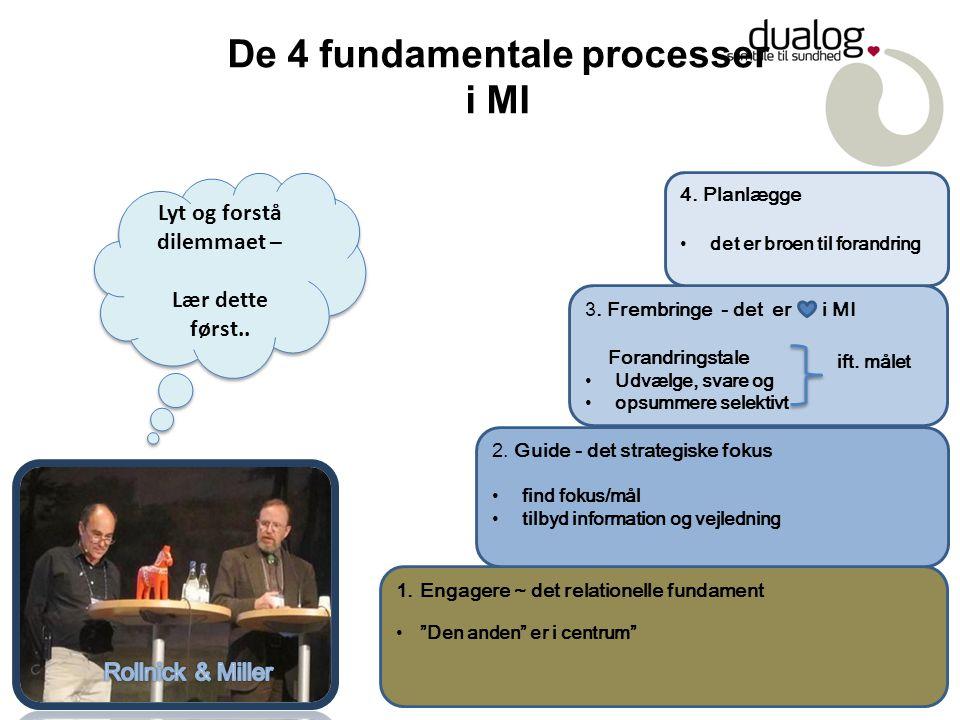 De 4 fundamentale processer i MI