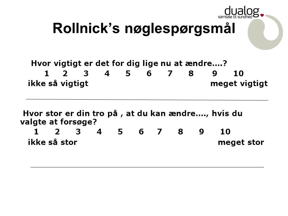Rollnick's nøglespørgsmål
