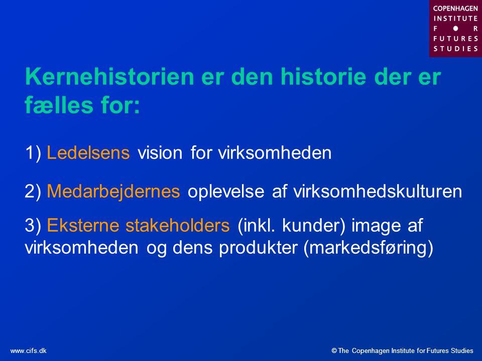 Kernehistorien er den historie der er fælles for: