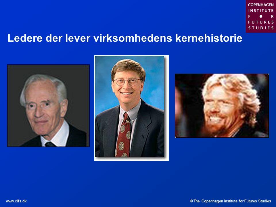 Ledere der lever virksomhedens kernehistorie
