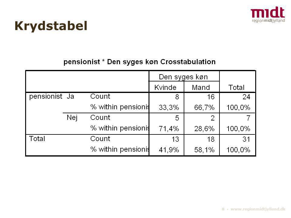 Krydstabel 8 ▪ www.regionmidtjylland.dk