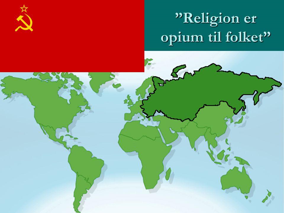 Religion er opium til folket