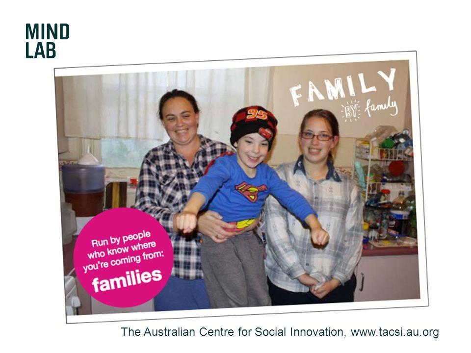 The Australian Centre for Social Innovation, www.tacsi.au.org