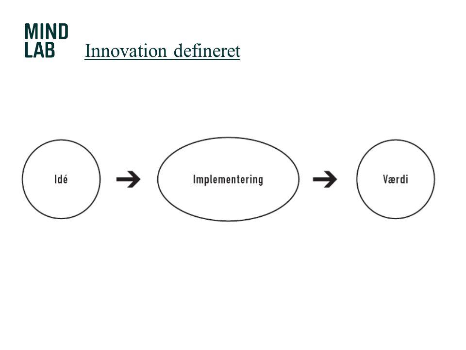 Innovation defineret