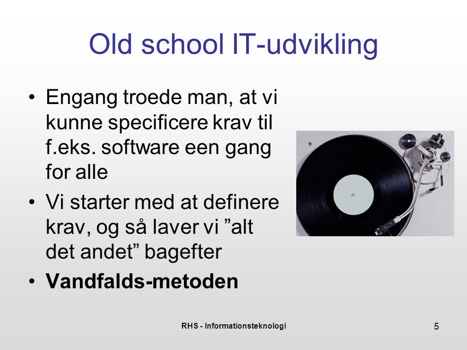 Old school IT-udvikling