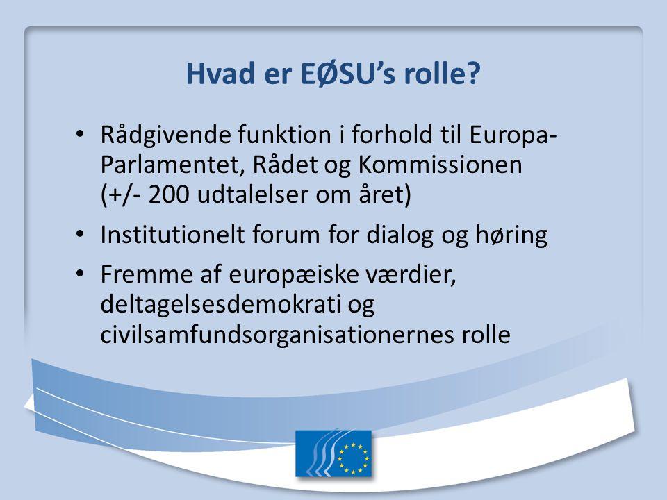 Det Europæiske Økonomiske og Sociale Udvalg - ppt video online download