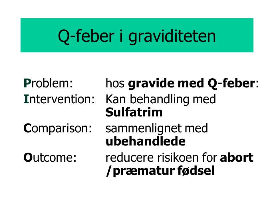 Q-feber i graviditeten