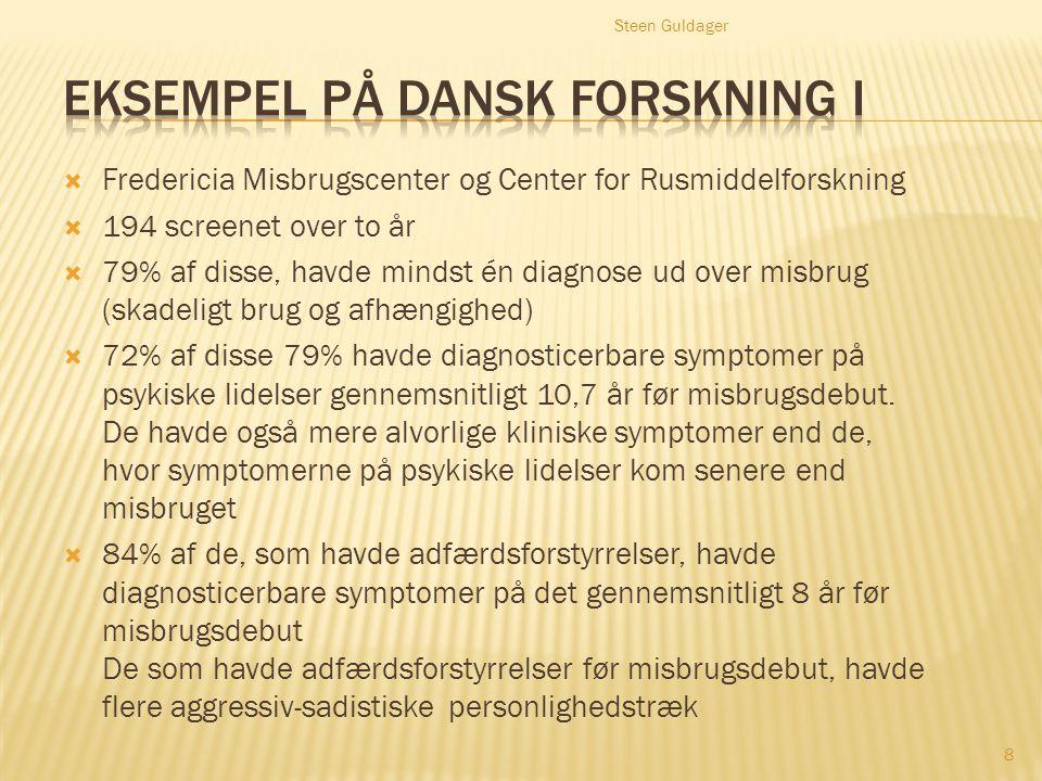 Eksempel på dansk forskning I