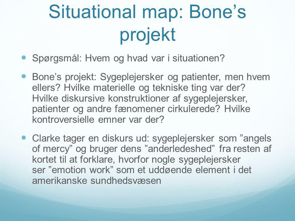 Situational map: Bone's projekt