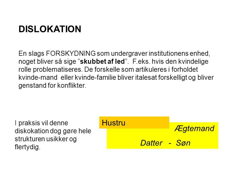 DISLOKATION Hustru Datter - Søn