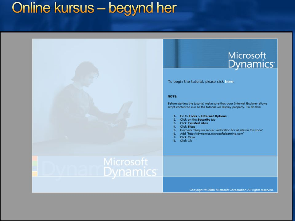 Online kursus – begynd her