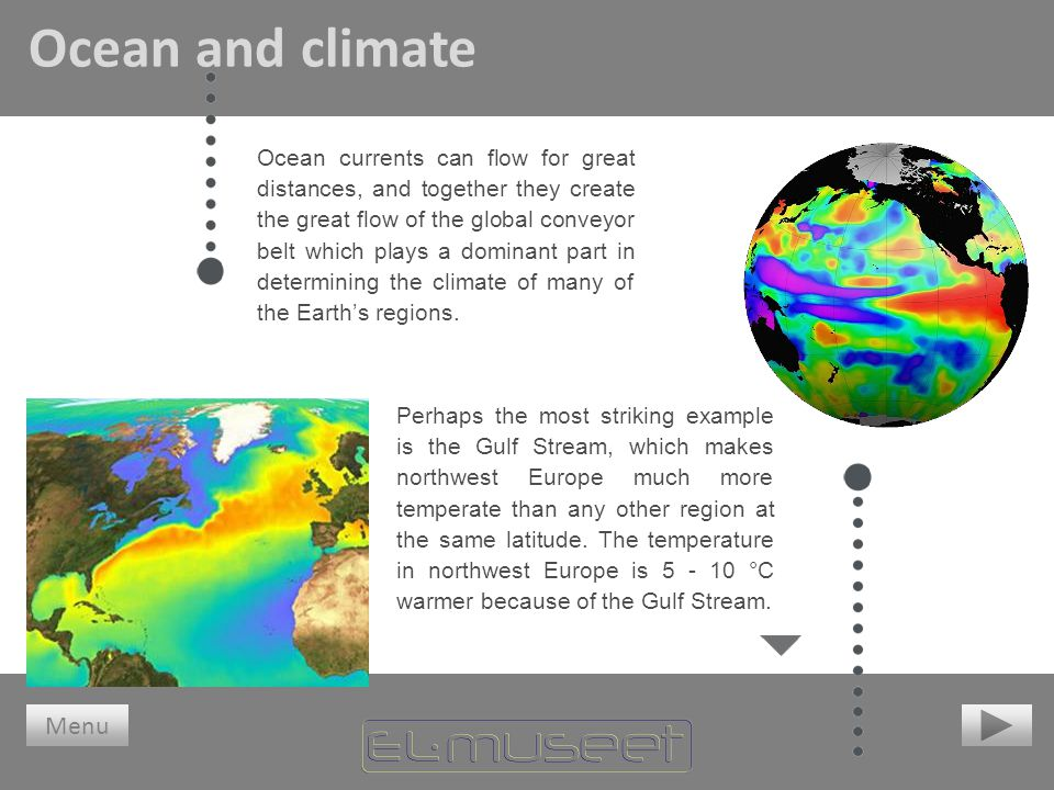 Ocean and climate