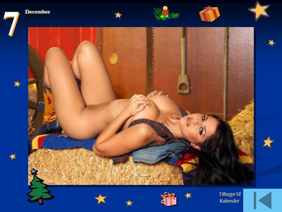 7 December Tilbage til Kalender
