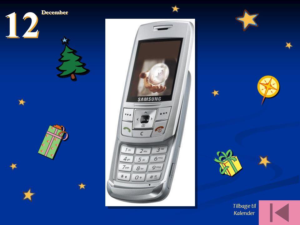 12 December Tilbage til Kalender