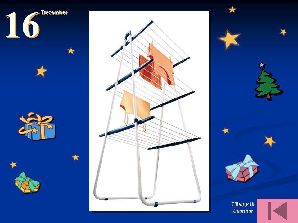 16 December Tilbage til Kalender