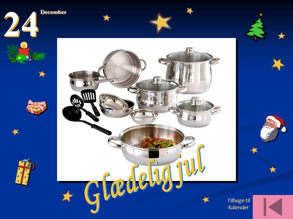 24 December Glædelig jul Tilbage til Kalender