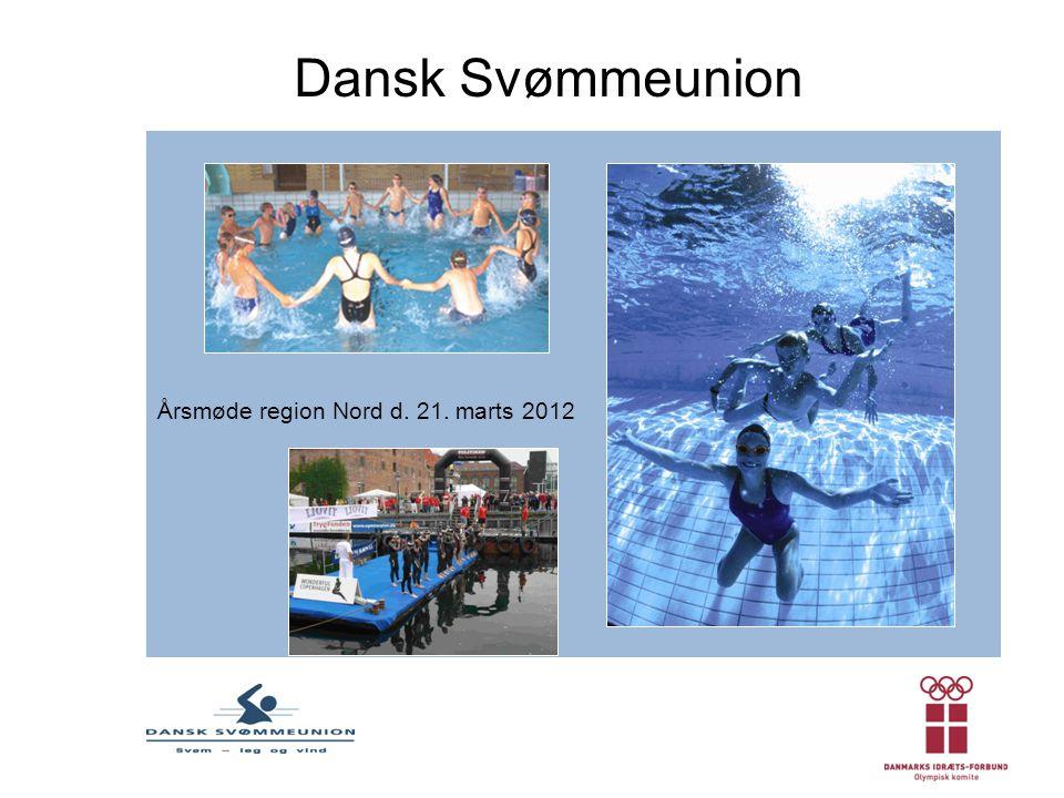 Dansk Svømmeunion Årsmøde region Nord d. 21. marts 2012