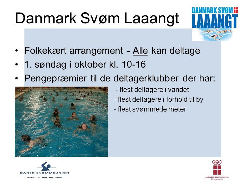 Danmark Svøm Laaangt Folkekært arrangement - Alle kan deltage