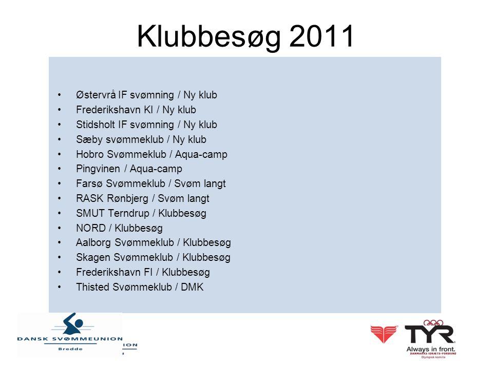 Klubbesøg 2011 Østervrå IF svømning / Ny klub