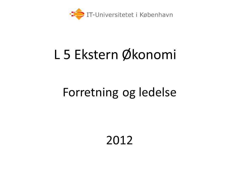 L 5 Ekstern Økonomi Forretning og ledelse 2012