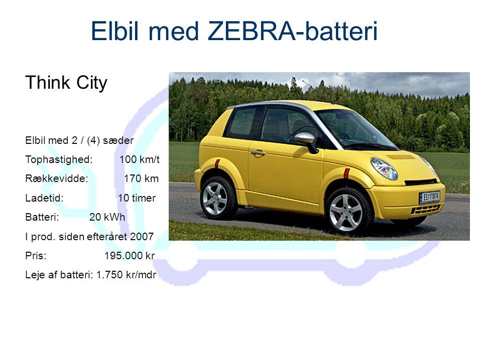 Elbil med ZEBRA-batteri
