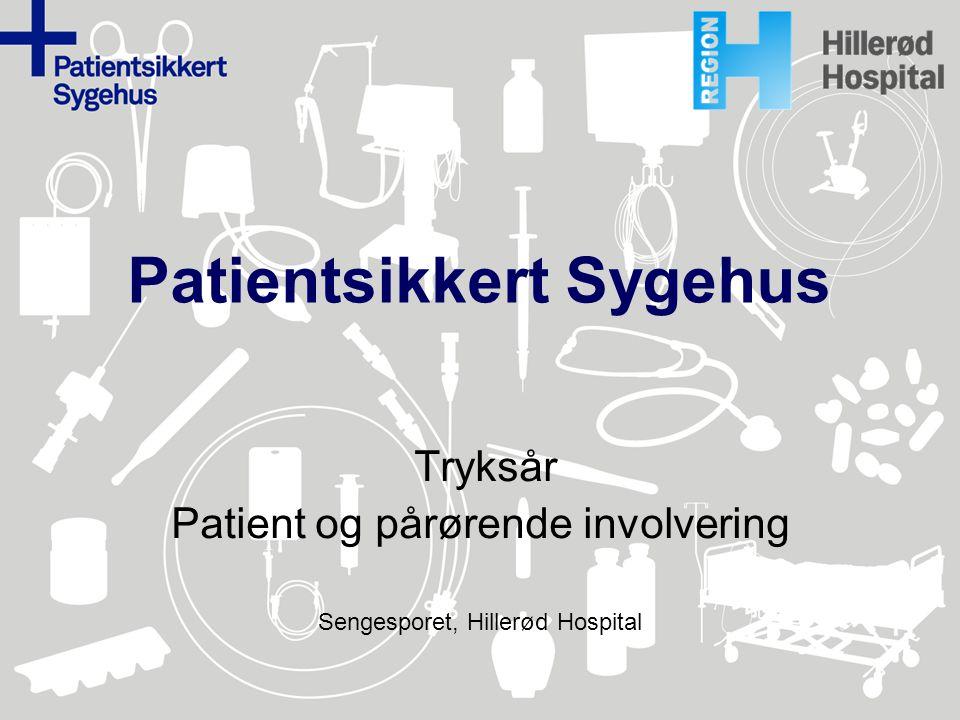 Patientsikkert Sygehus