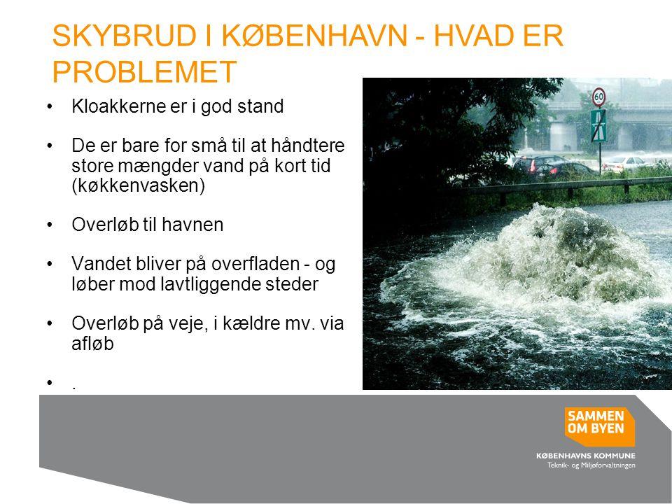 SKYBRUD I KØBENHAVN - HVAD ER PROBLEMET