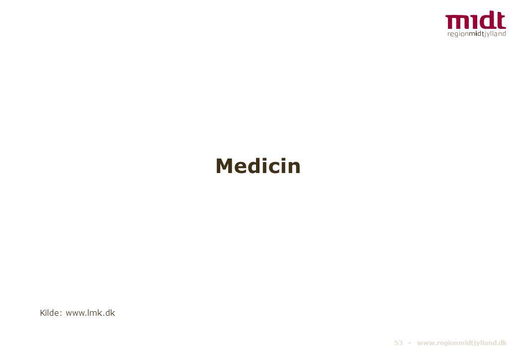 Medicin Kilde: www.lmk.dk 53 ▪ www.regionmidtjylland.dk