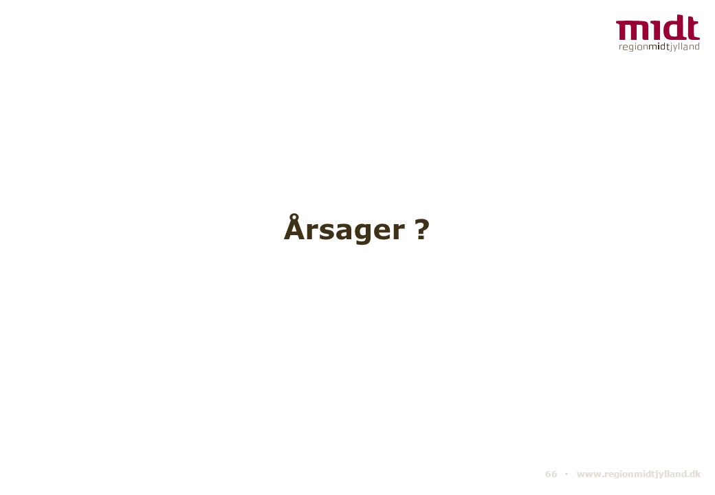 Årsager 66 ▪ www.regionmidtjylland.dk