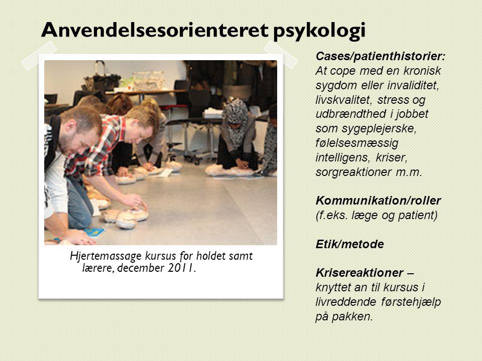 Anvendelsesorienteret psykologi