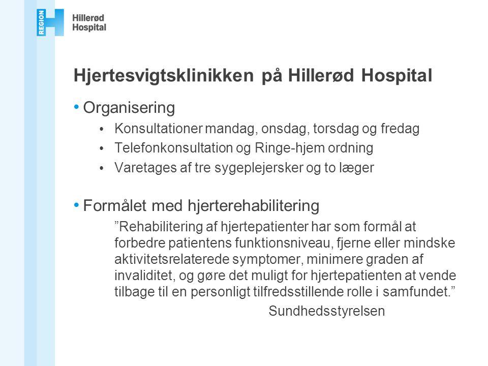 Hjertesvigtsklinikken på Hillerød Hospital