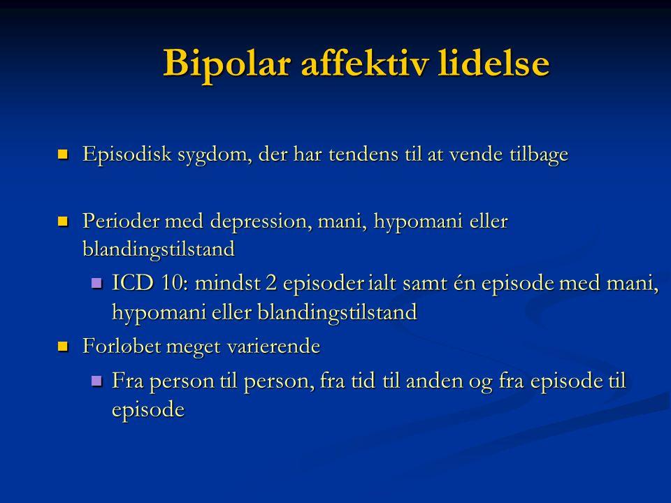 Bipolar affektiv lidelse