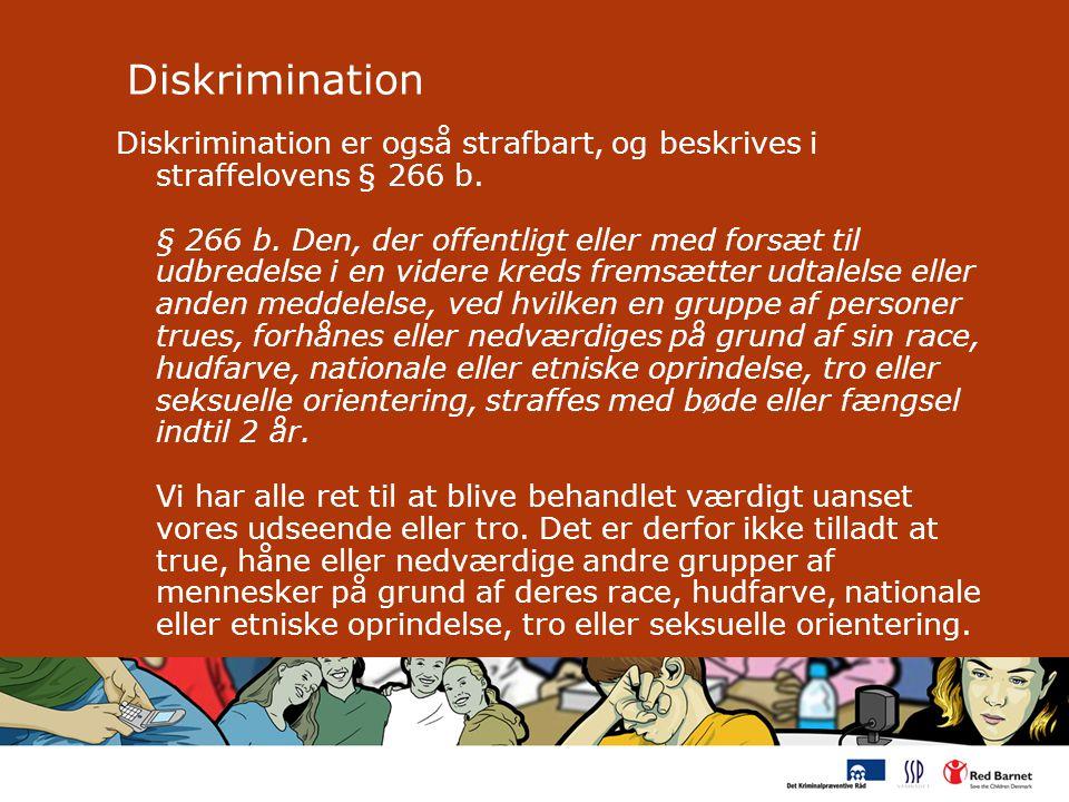 Diskrimination