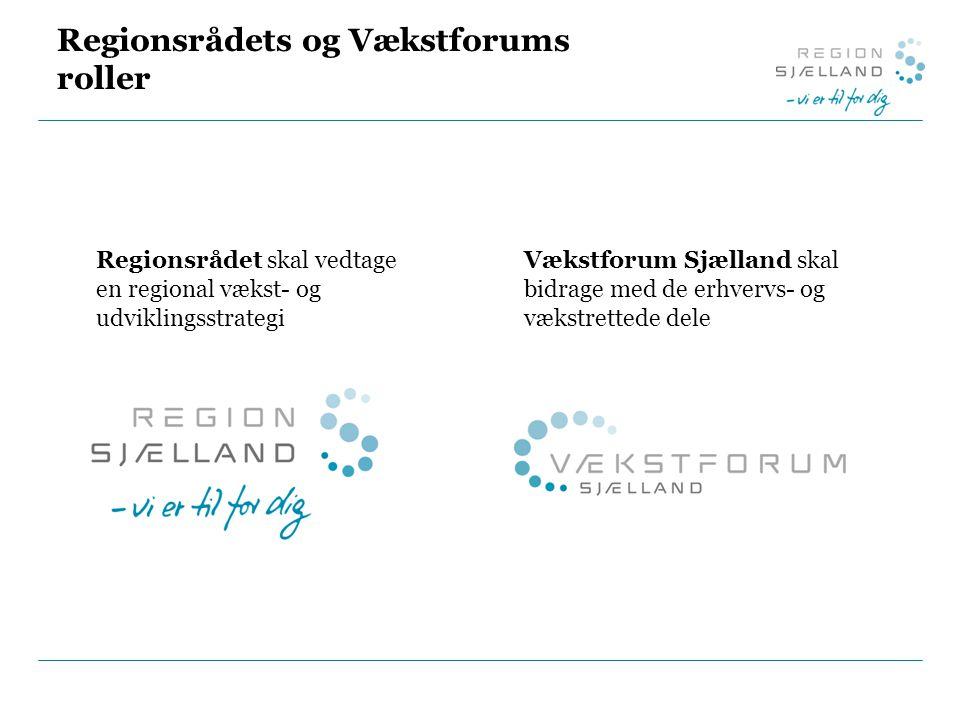 Regionsrådets og Vækstforums roller