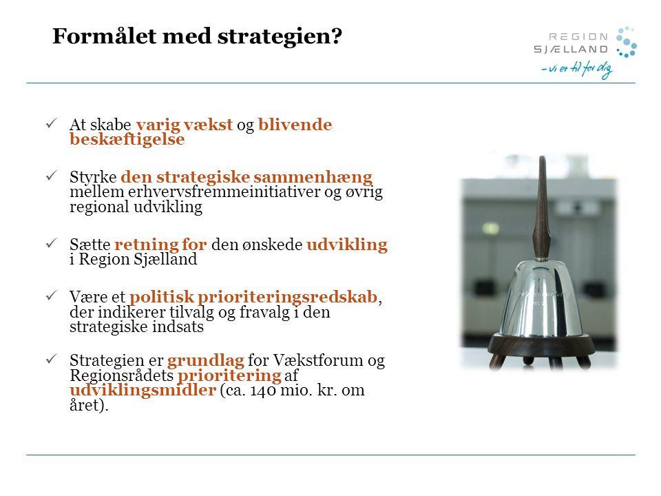 Formålet med strategien