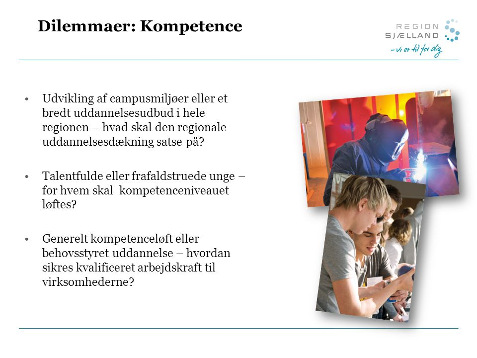 Dilemmaer: Kompetence