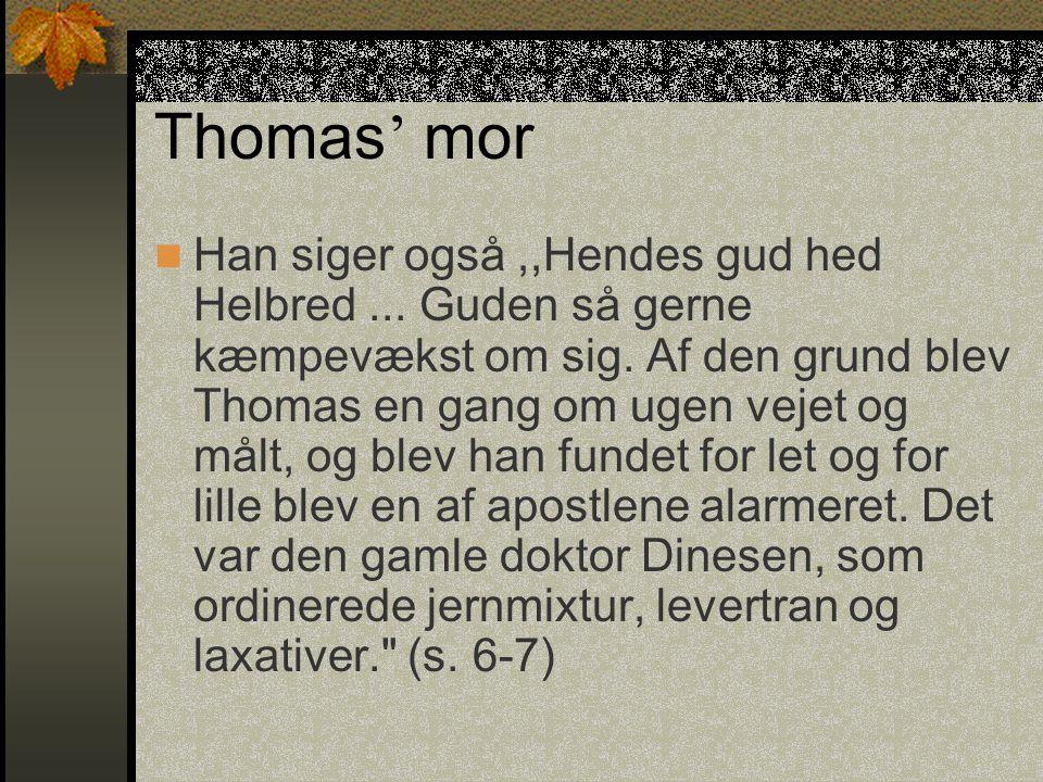 Thomas' mor