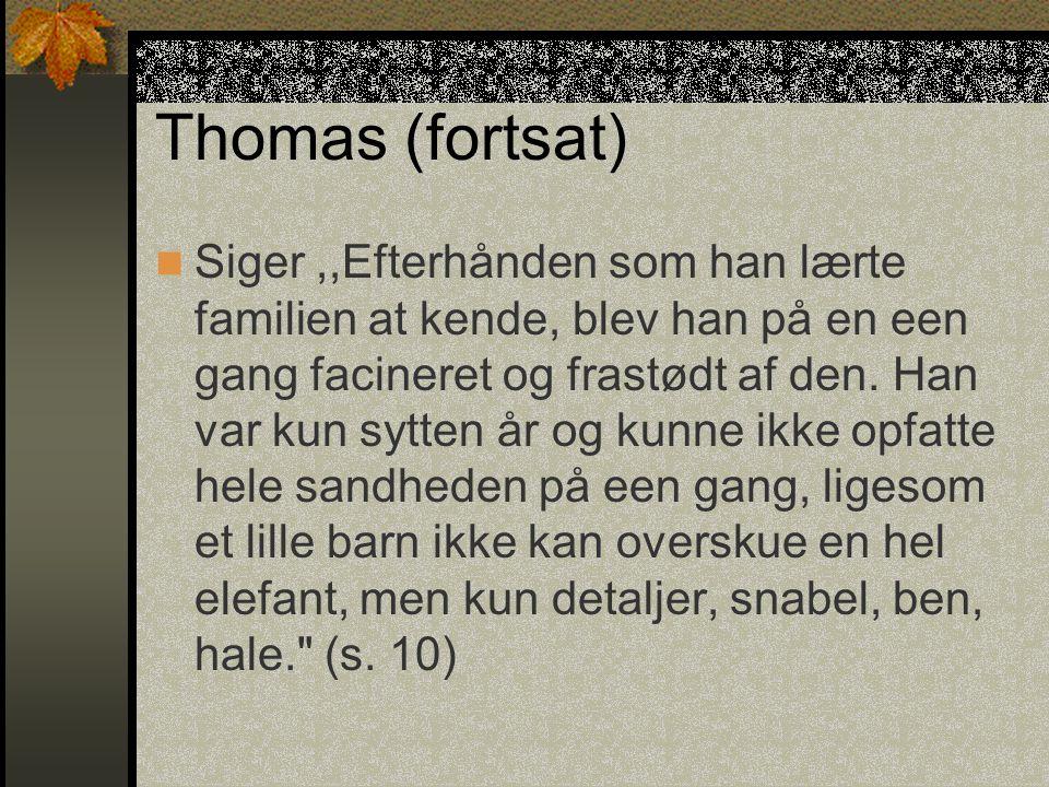 Thomas (fortsat)