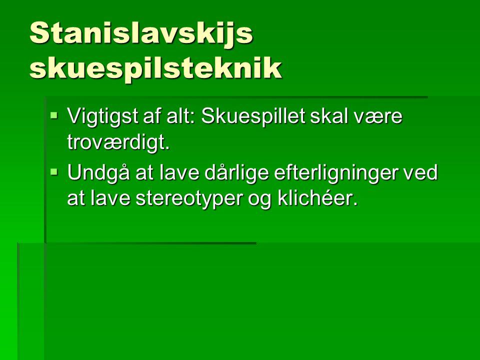 Stanislavskijs skuespilsteknik