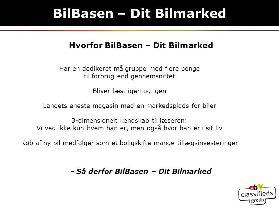 Vores Organisation BilBasen – Dit Bilmarked