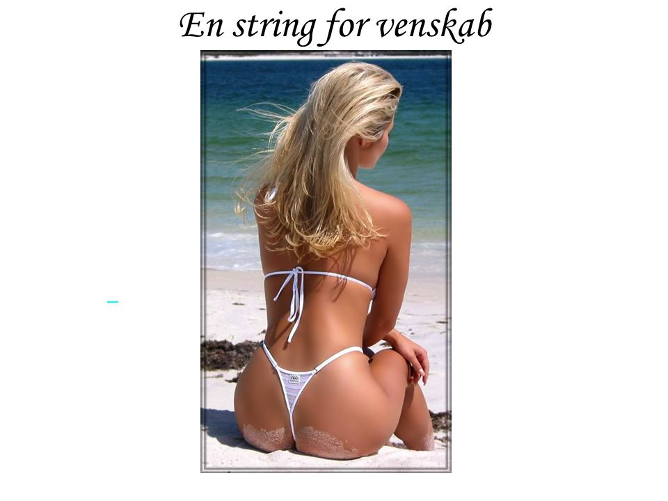 En string for venskab
