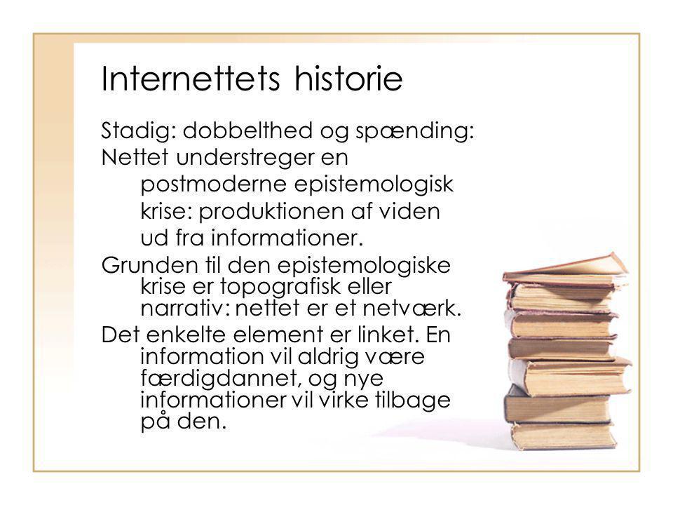 Internettets historie