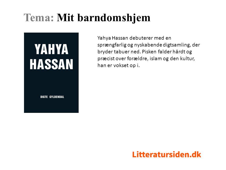 hvad handler yahya hassans digte om